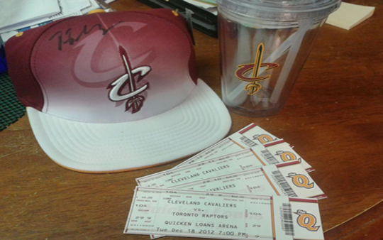 cavs prizes