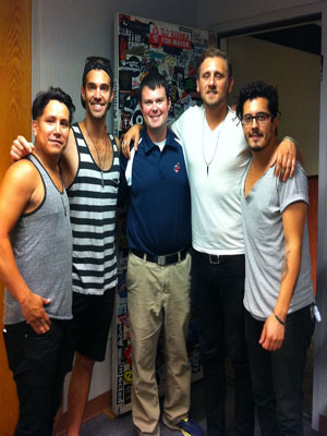 Howard with American Authors