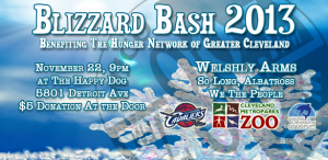 Eric's Blizzard Bash poster