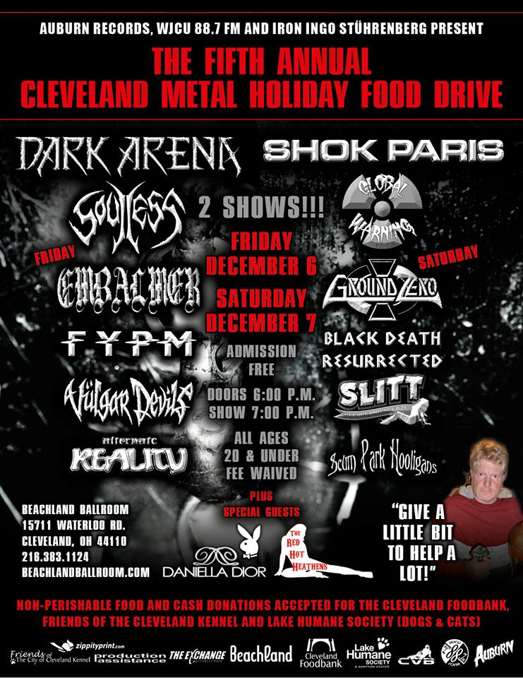 Heavy Metal Benefit 2013