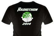 Radio 2014 shirt, black, back