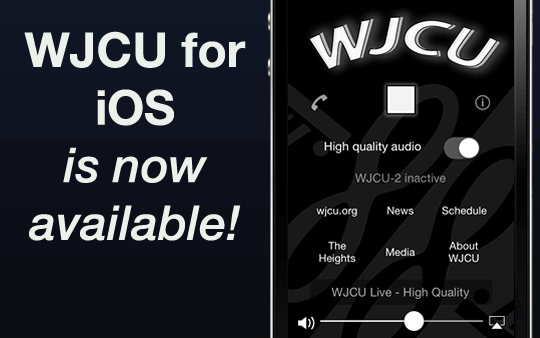 The WJCU for iOS app is now available!